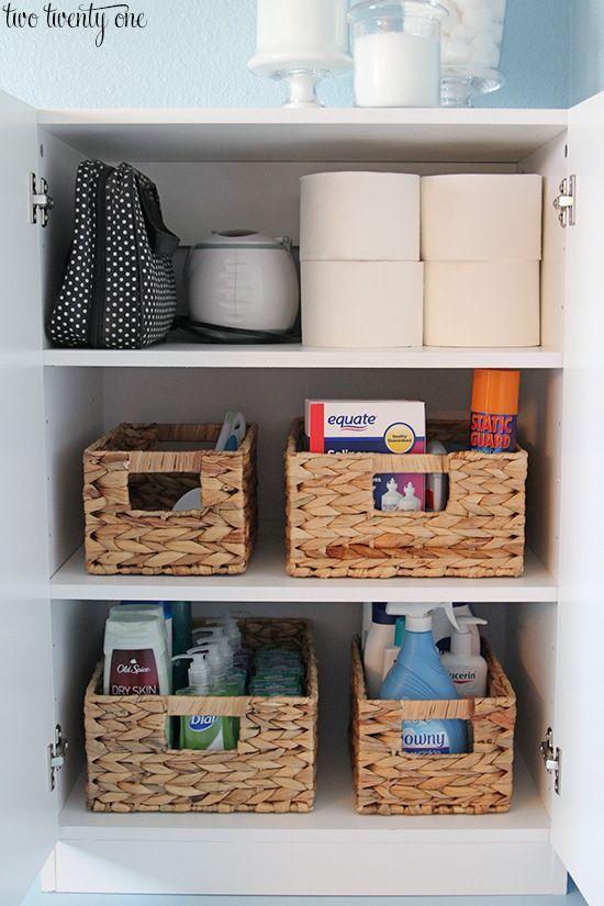 added master bathroom storage  bathroom cabinet
