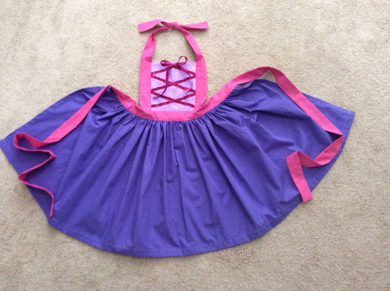 Disney Princess Inspired Rapunzel Dress Up by JeannineChristian, $22.00