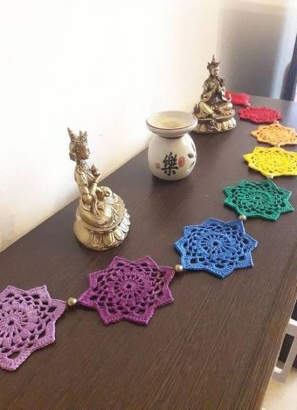 69+ Trendy crochet mandala pattern wall hangings etsy #crochetmandalapattern