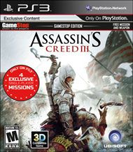 Assassin S Creed Iii Gamestop Edition For Playstation 3 Gamestop Assassins Creed Assassins Creed 3 Assassin