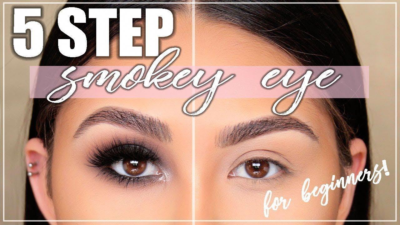 Perfect Smokey Eye in 5 Steps?! Smokey Eye Tutorial for