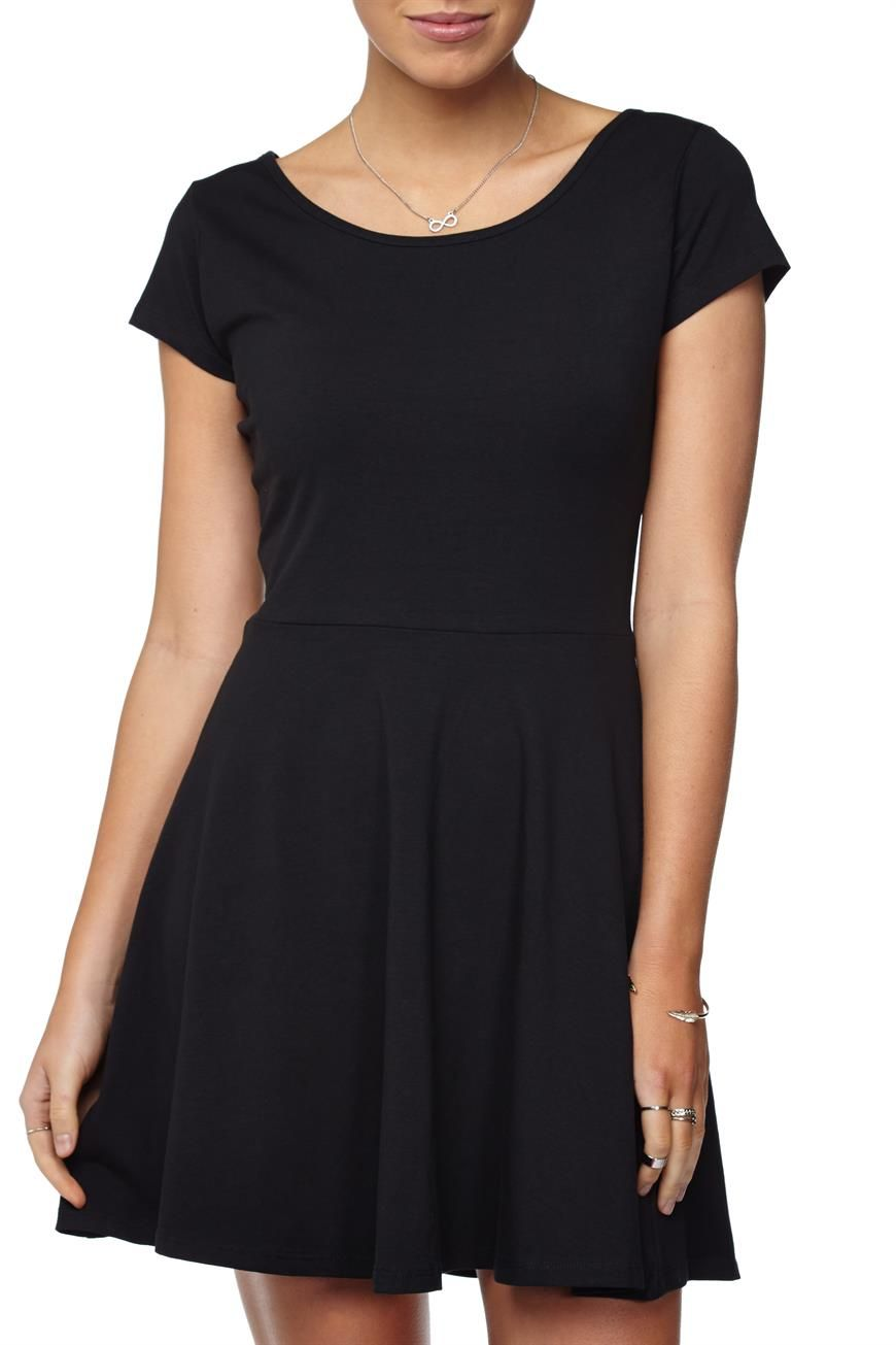The Billie cap sleeve is a fit and flare dress. This features a ...
