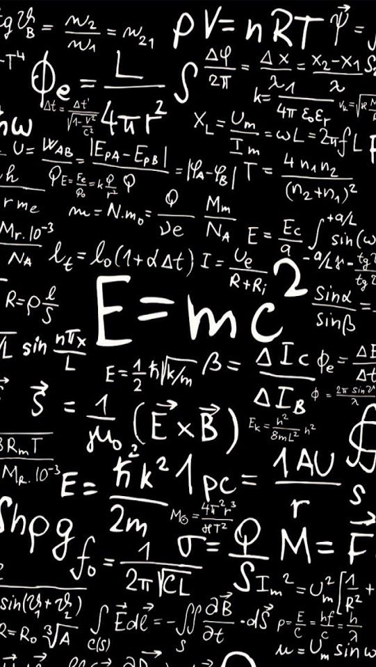 Mathematical And Physics Formulas Android Best Wallpaper