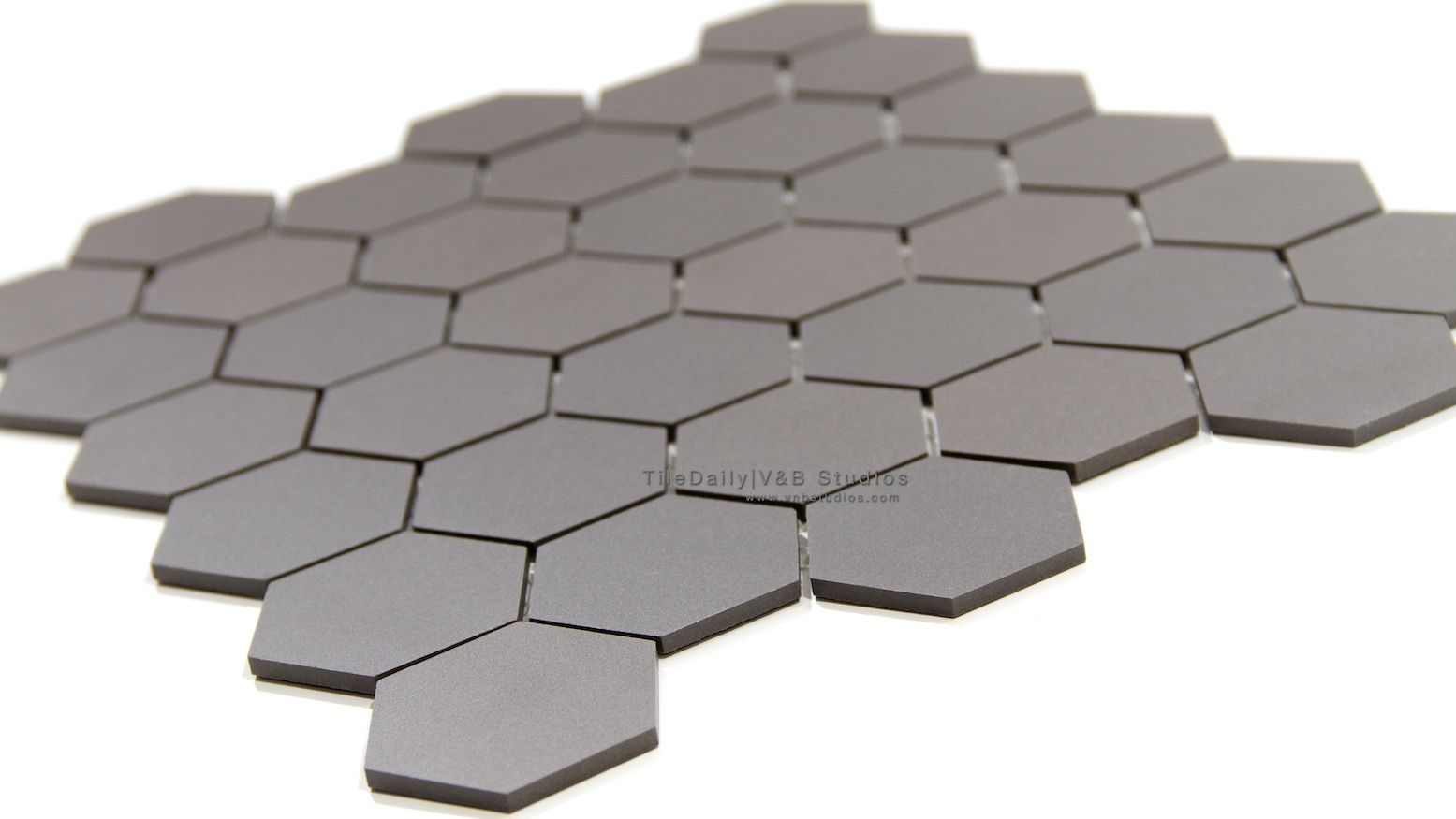 Item: Hexagon Matte Porcelain Mosaic Dimensions: X Thickness: Surface:  Matte, Throughbody Material: Porcelain Application: Wall, Floor This Tile  Is ...