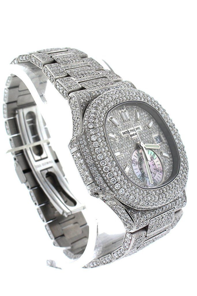 3e07c7fb268 Patek Philippe Nautilus Custom Diamonds Men s Watch 5980 1A-019- Price  Request Only