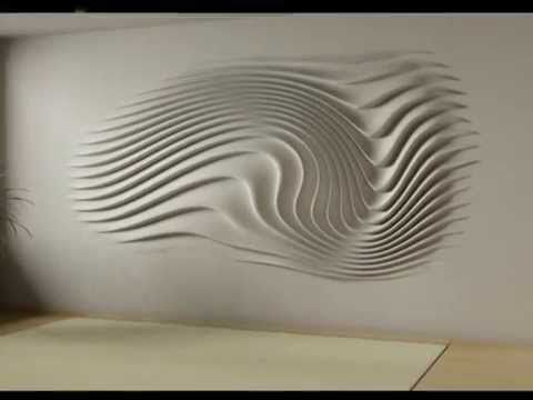 wall relief decoration - interior design RUČNÍ PRÁCE