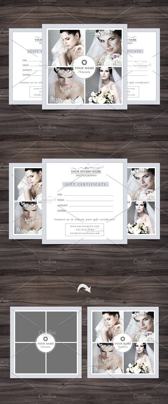 Photography Gift Certificate Templat | Pinterest | Photography gifts ...