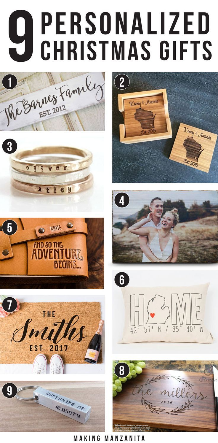 9 Awesome Personalized Christmas Gifts | Grandparents, Christmas ...