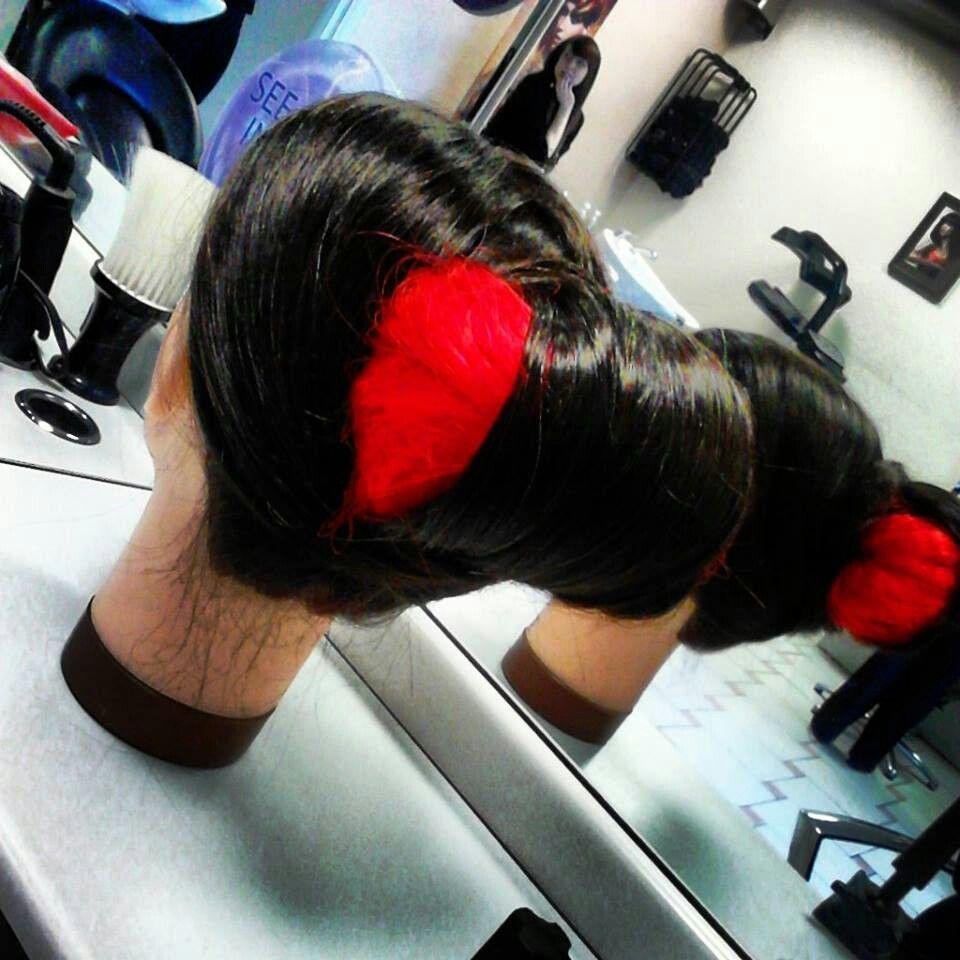 Geshia inspired hair I did