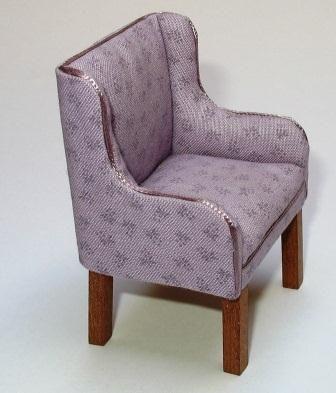 Dolls House tapicería en miniatura en la parte 3 - Trabajar con Tela de algodón | Features | Club de Coleccionistas de Gran Bretaña