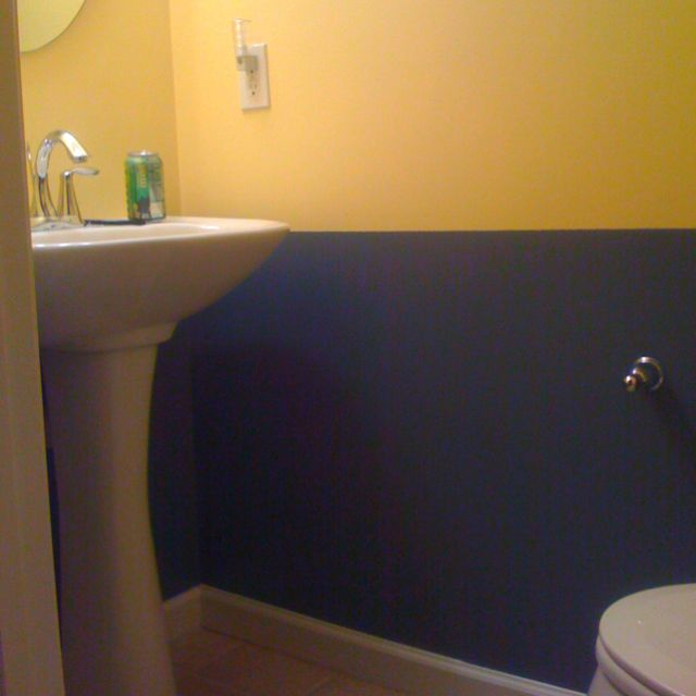 The 25 Best Blue Yellow Bathrooms Ideas On Pinterest