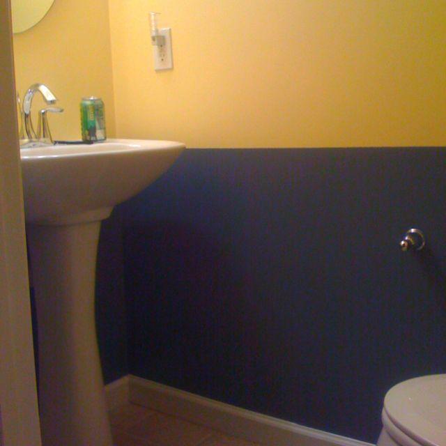 Navy Blue Yellow Bathroom Yellow Bathroom Decor Yellow