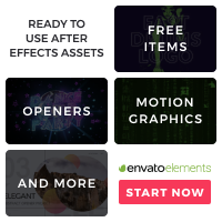 After Effects 200x200 Envato After Effects Video Template