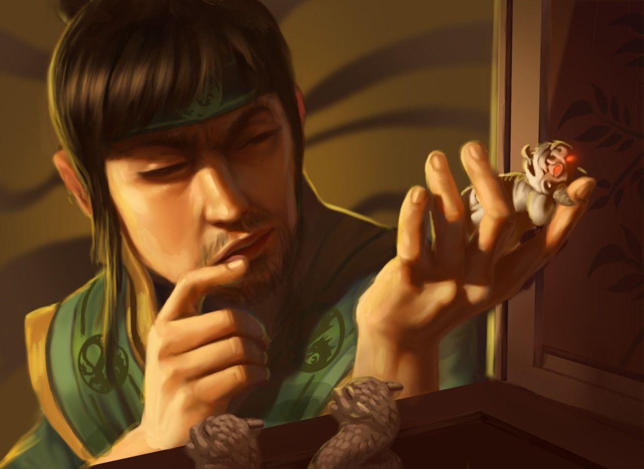 """Kitsuki Jakuei,"" by Tony Foti"