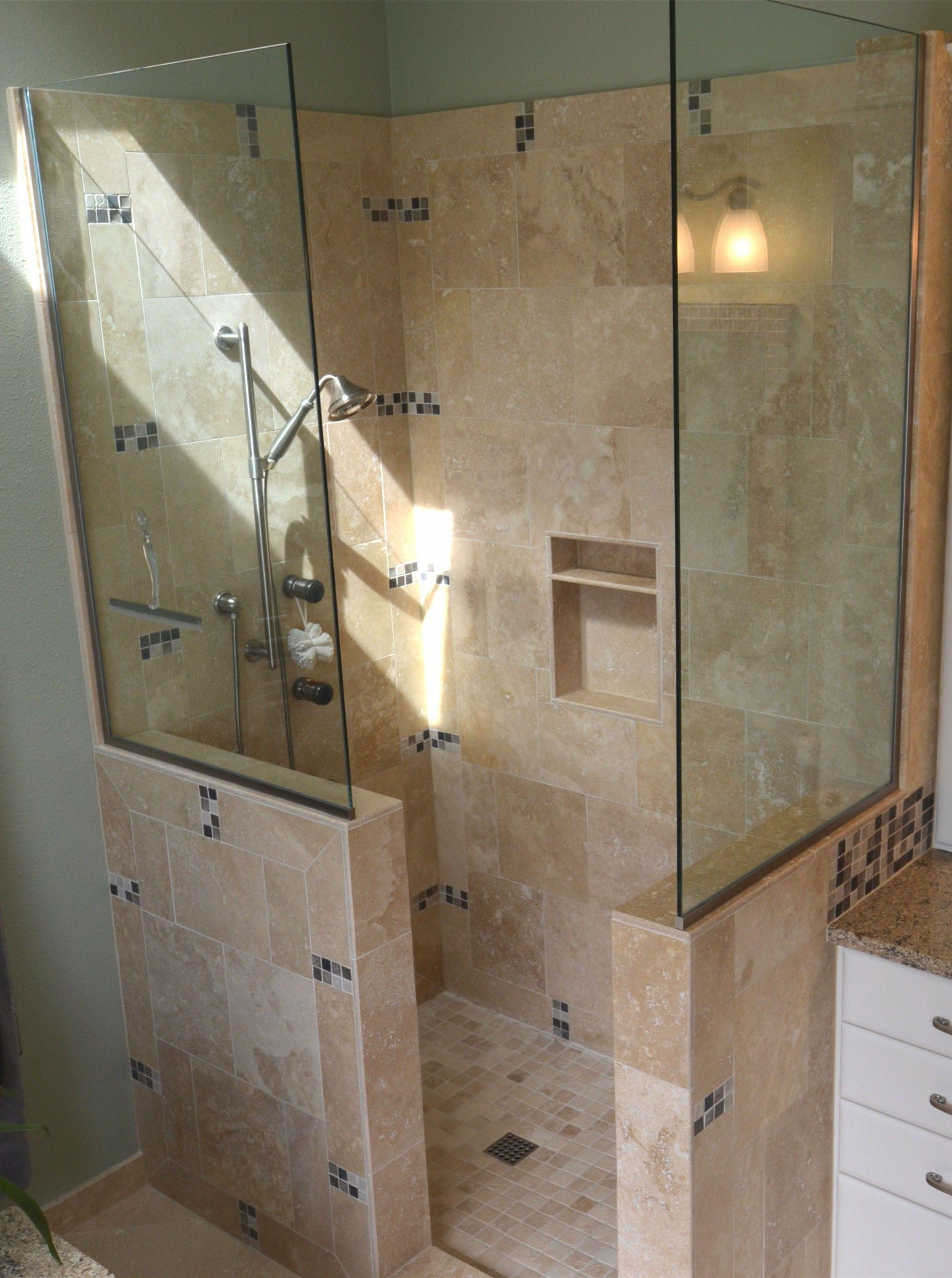 Ten Ways Shower Design Ideas Doorless Can Improve Your ...