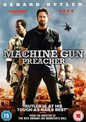 Machine Gun Preacher Poster Biography Movie Posters