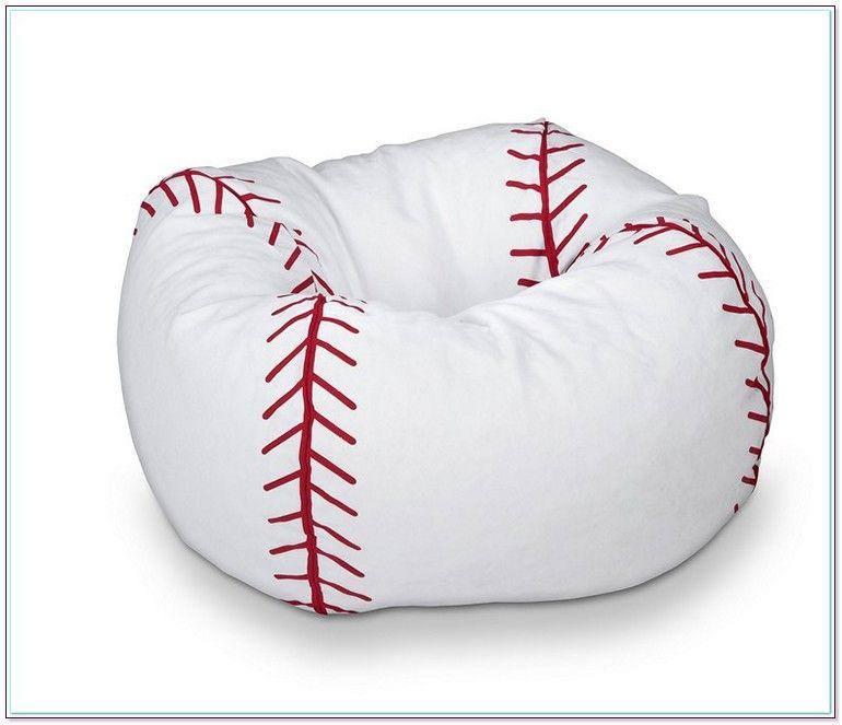 Affordable Baseball Bean Bag Chair In 2020 Boys Baseball Bedroom Bean Bag Chair Bean Bag Baseball