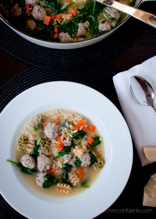 Italian Wedding Soup Made This With Orzo And It Was AWESOME