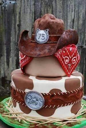 Prime Cool Country Cake With Images Cowboy Birthday Cakes Cowboy Funny Birthday Cards Online Barepcheapnameinfo