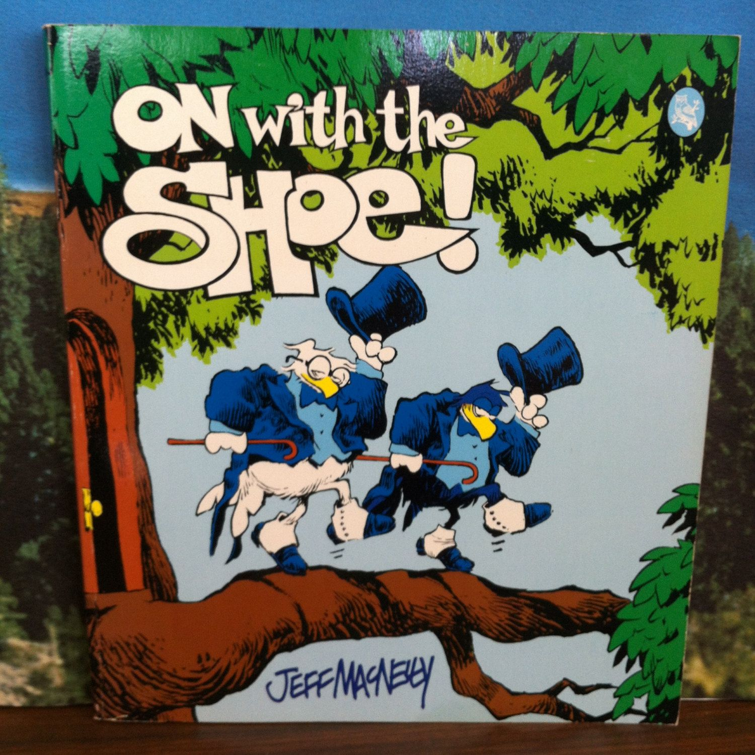 On With The Shoe Vintage Book By Jeff Macnelly Holt