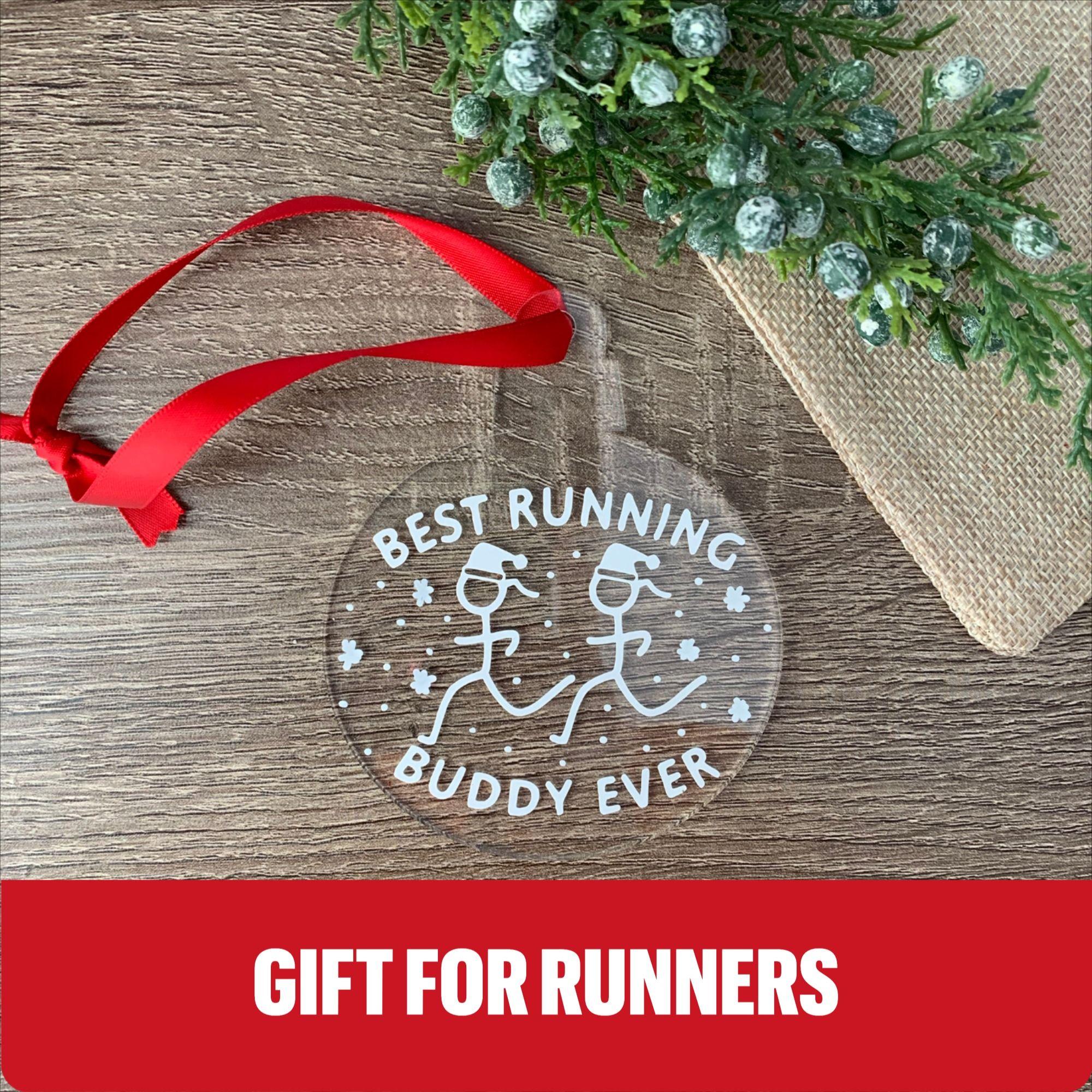 Run Gifts Runner Ornament Running Buddy Ornament Ornaments Running Friend Gifts Running Ornaments Runner Christmas Running Gifts