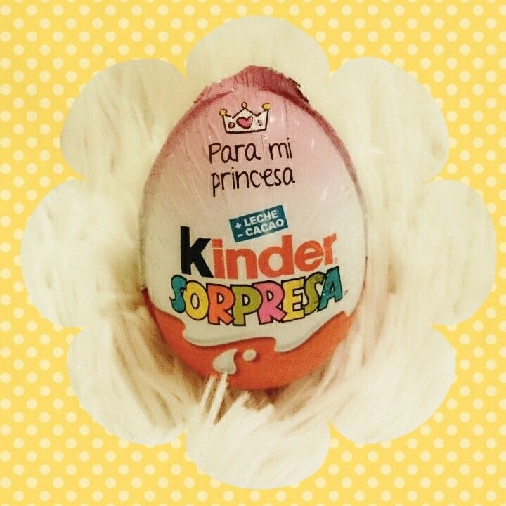 Princess Kinder egg <3