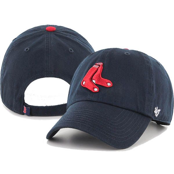 d4fceae77cfa1 47  Brand Boston Red Sox 2nd Alternate Clean Up Adjustable Hat (Navy) Style  Number  CLEAN-NVY2SOX Navy From game day to everyday show off some team  pride in ...
