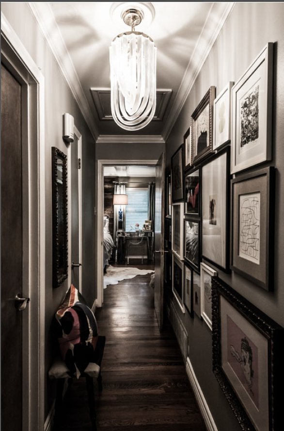 Obsessed with this hallway!