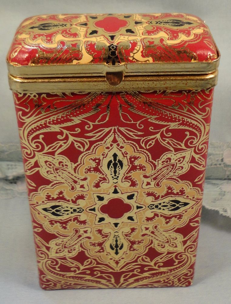Vintage Leather Cigarette Case Holder Cover Box Made in Italy Italian