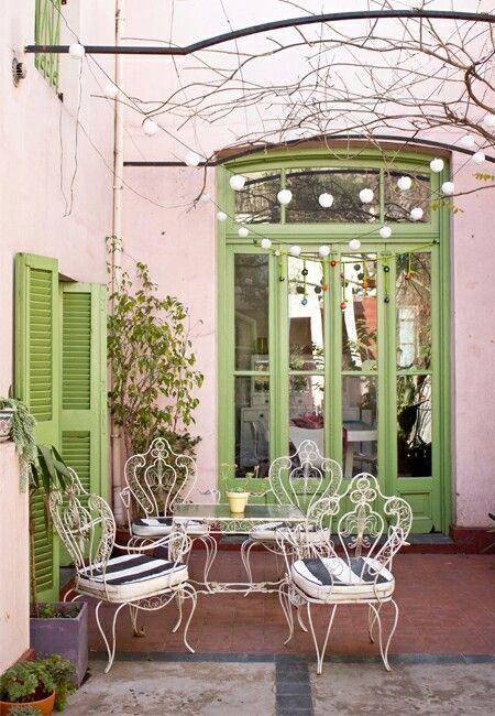 Hermosa Terraza Casa Chaucha Decoracion De Interiores Disenos De Salas