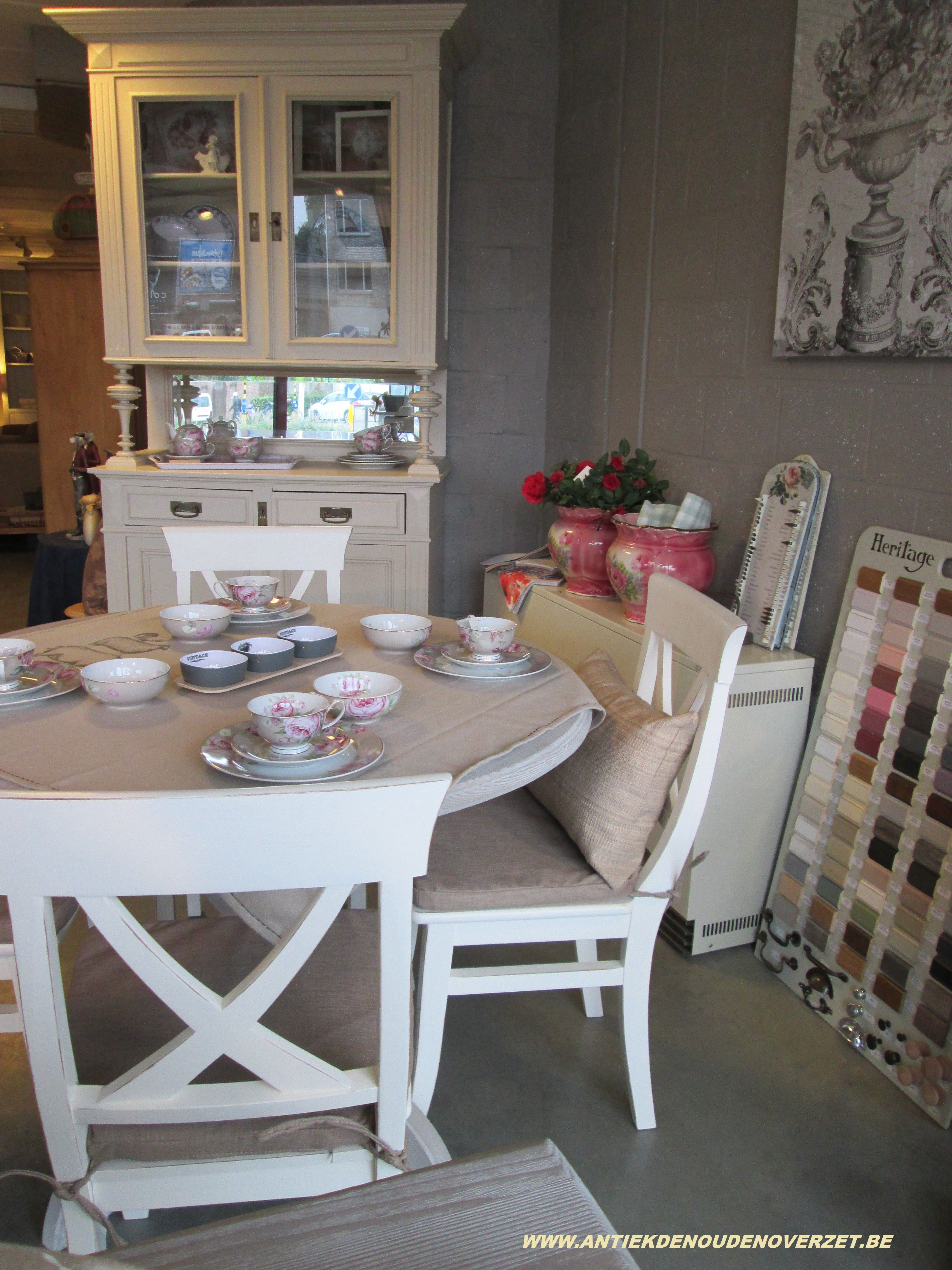 Dining Room Exemple In Our Shop With Furniture From The Heritage Cool Heritage Dining Room Furniture Decorating Inspiration