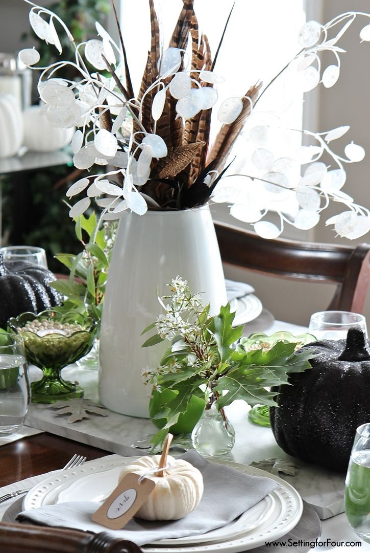 Fall Wildflower Tabletop Decorating Ideas Tabletop Decorations Halloween Tabletop Fall Table Centerpieces