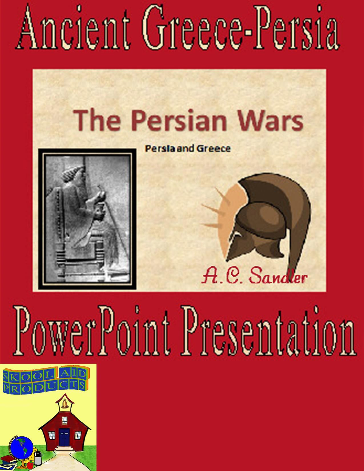Ancient Greece The Persian Wars Powerpoint Presentation Bundle