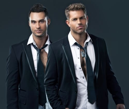 Team Chippendales from The Amazing Race (Jaymes Vaughan and James Davis) to headline Pride Houston (Jaymes and James)