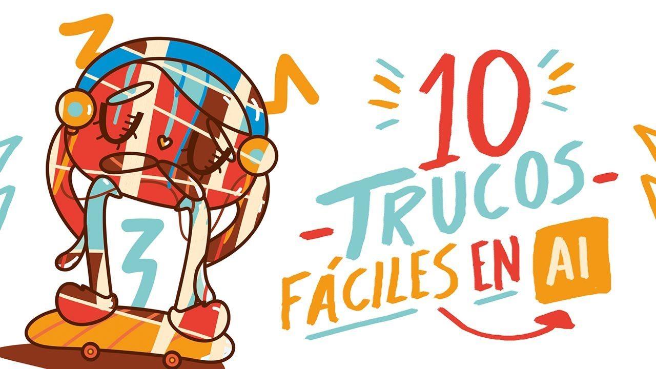 10 Trucos Para Dibujar Facil En Illustrator Andreaga Trucos Para Dibujar Trucos Programa Illustrator
