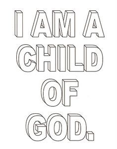 kids coloring pages child of god pinterest president monson