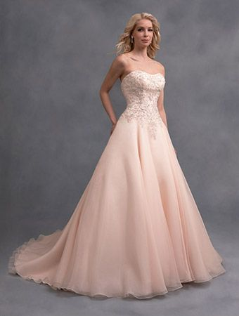A Romantic Wedding Ball Gown With Beaded Embroidered Bodice