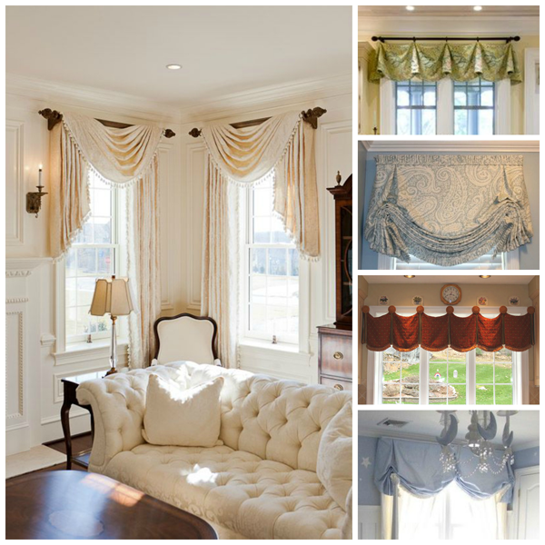 top your windows with these valance window treatment ideas sewing rh pinterest com