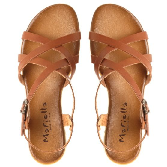 c62223ed619 Mariella brown leather sandals - MINE!