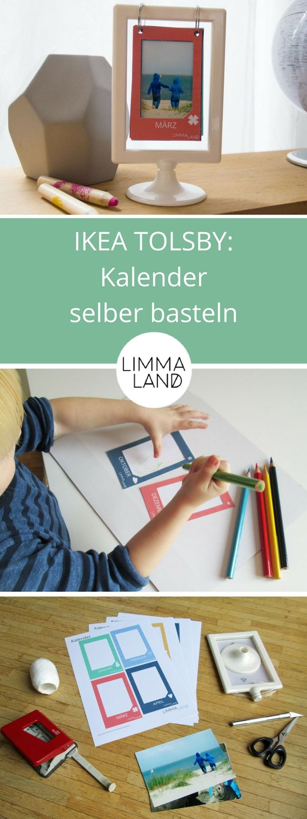 IKEA Kalender selber basteln - Weihnachtsgeschenk für Großeltern ...