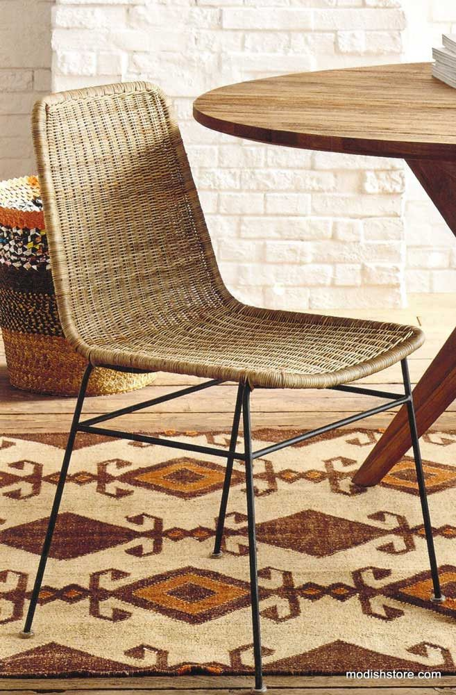 Roost Ingrid Rattan Dining Chair Set Of 2 Rattan