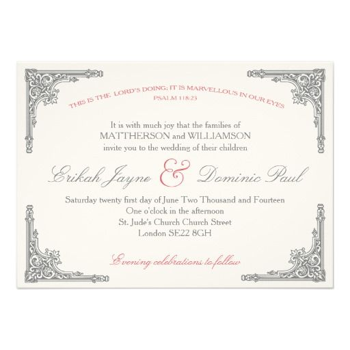 Christian Wedding Invitation Wording: Christian Cross Will You Be My Bridesmaid Invitation
