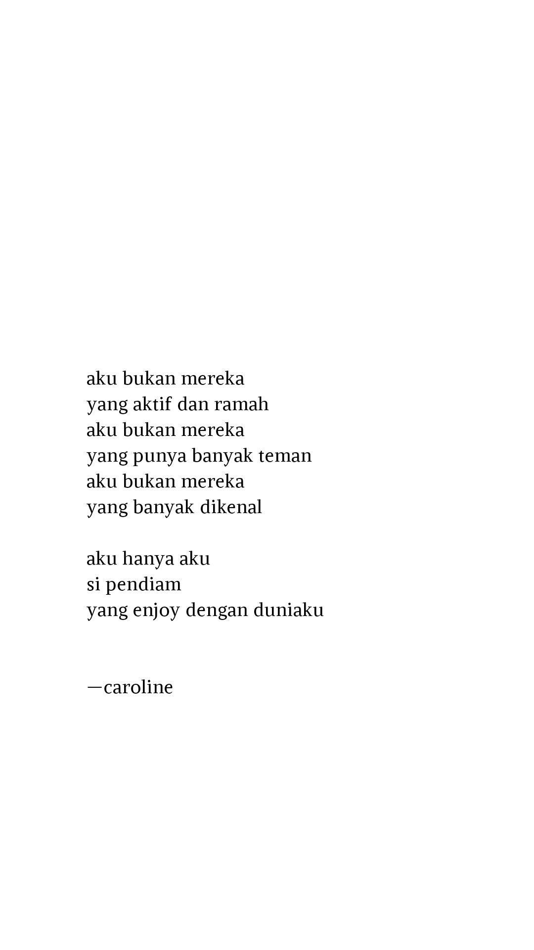 Kutipan Caroline Dengan Gambar Kata Kata Indah Kata Kata