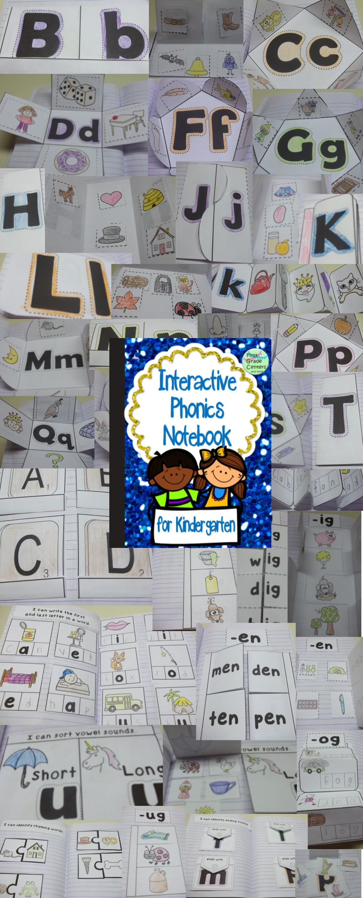 Interactive Notebook Phonics And Phonemic Awareness For