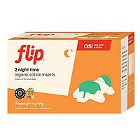Flip Diapers Organic Night Time Insert 2 Pack Flip Diapers