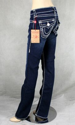 9c2af4baa Details about True Religion Jeans women s BECKY Super T Lonestar ...