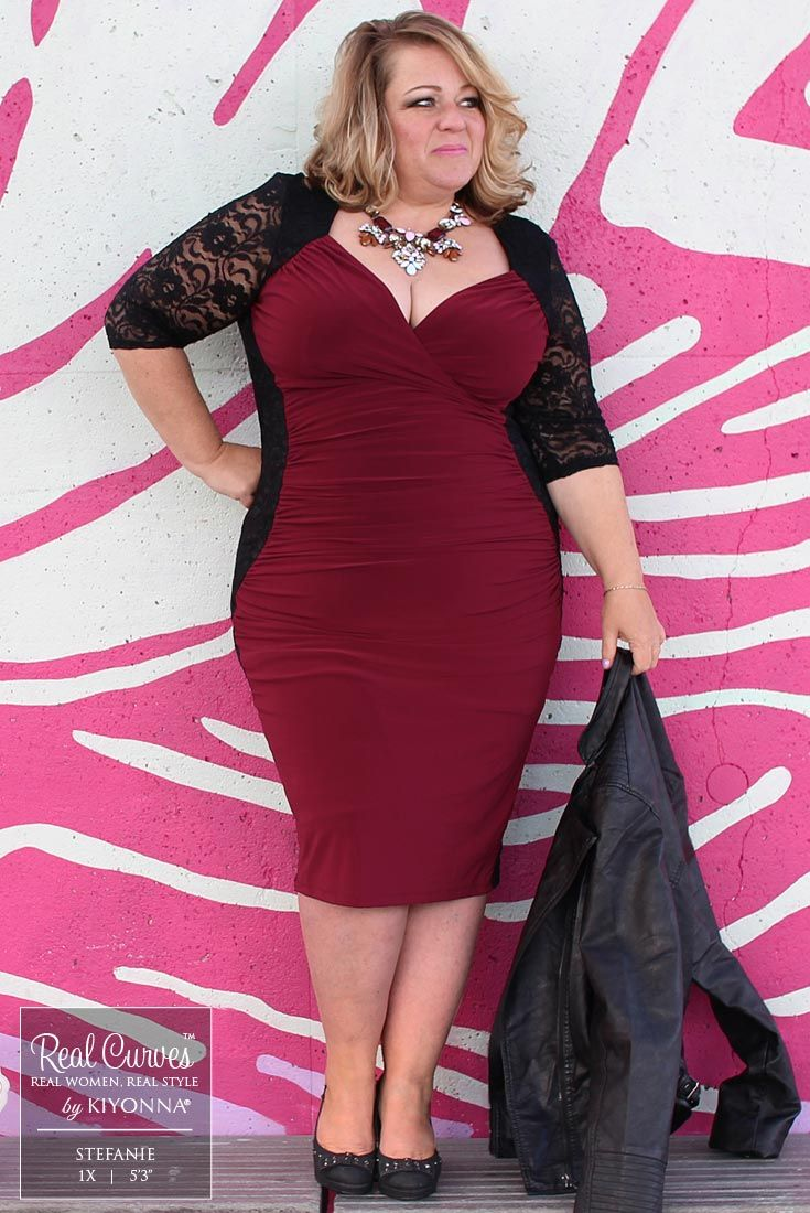 """sexyplus clothing boutique owner, stefanie (5'3"""" and a size 1x"""