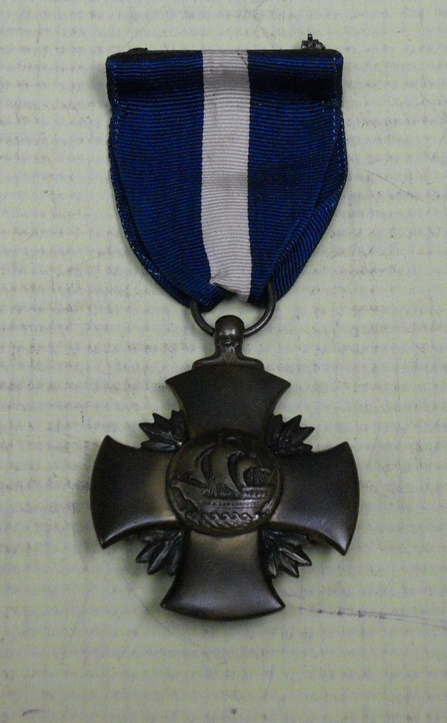 US Distinguished Service Cross Navy (with rare WWII