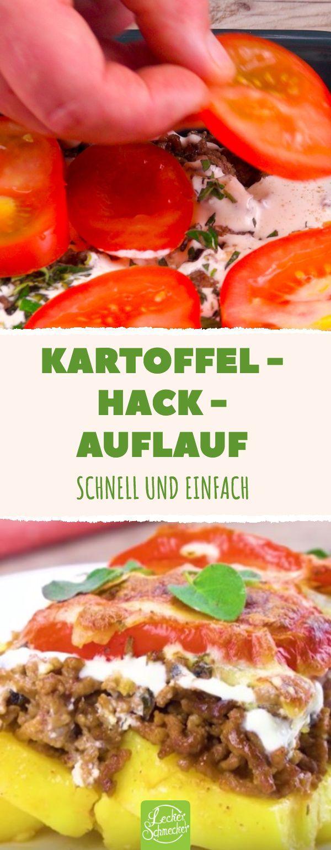 Perfekte Hausmannskost: Kartoffeln kochen, Hackfleisch braten ...   - Rezepte -