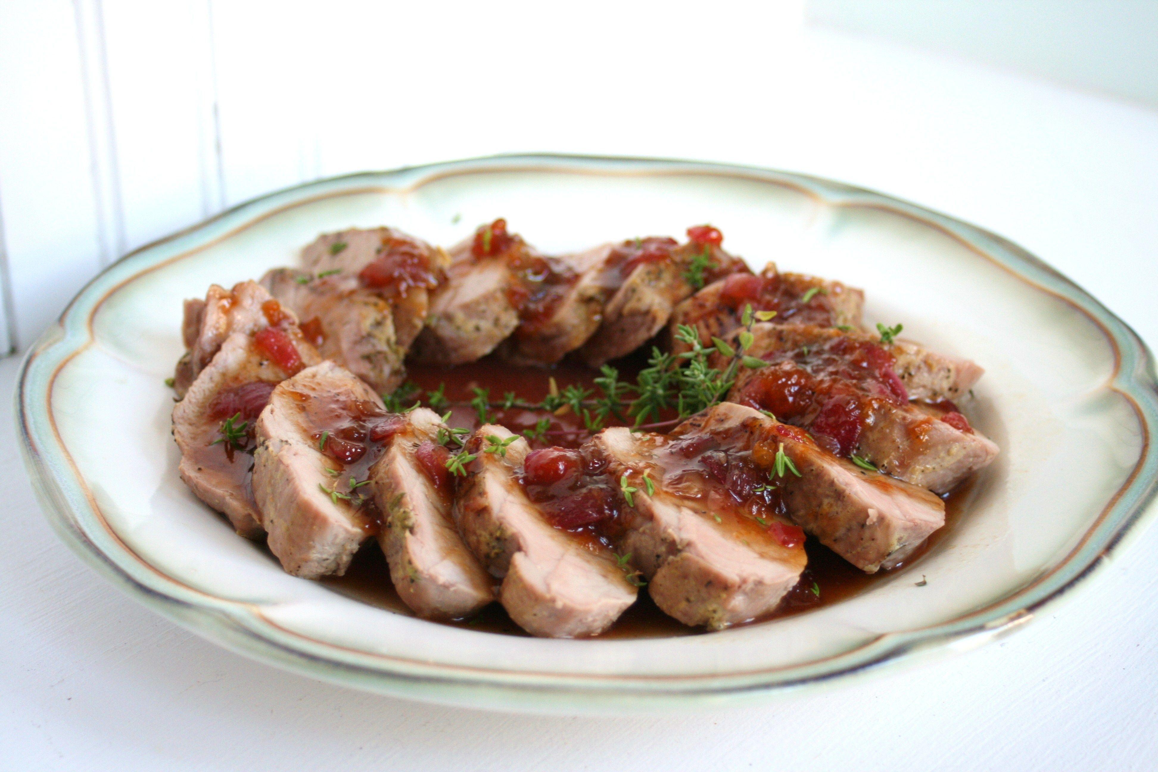 Apricot balsamic pork tenderloin recipe balsamic pork